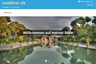 Homepage Dirk Nöldner